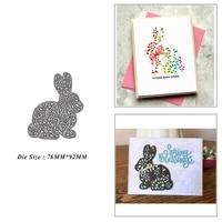rabbit metal cutting dies for diy scrapbook album paper card decoration crafts embossing 2021 new dies
