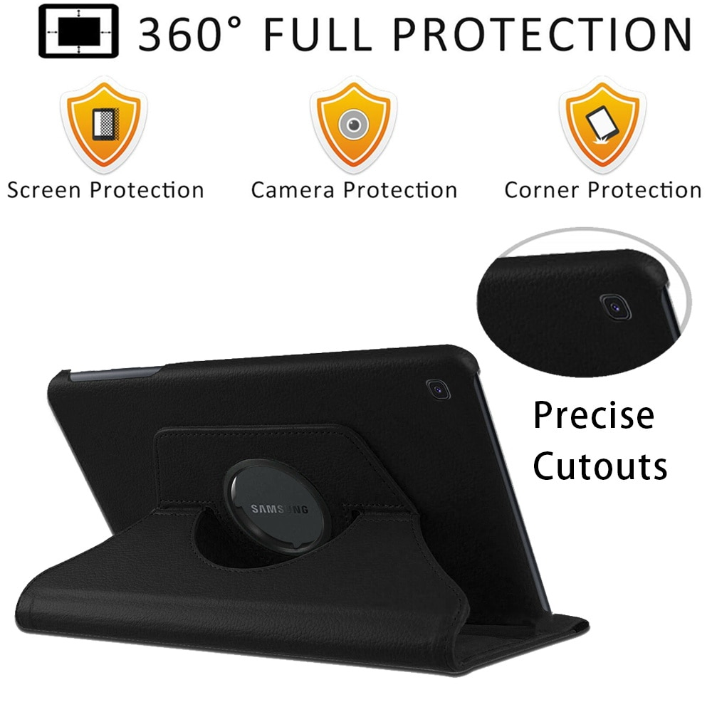 360 Rotating Tablet Case for Samsung Galaxy Tab A7 10.4 inch/Tab A 10.1 T510/T515/Tab S6 Lite p610 Cover Case + Free Stylus enlarge