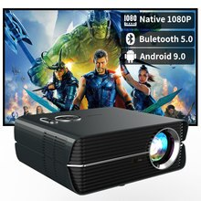 Video Projector Full Hd 1080P Beamer Wired Network Led 6500 Lumens A10AB Freeshipping Home Theater P