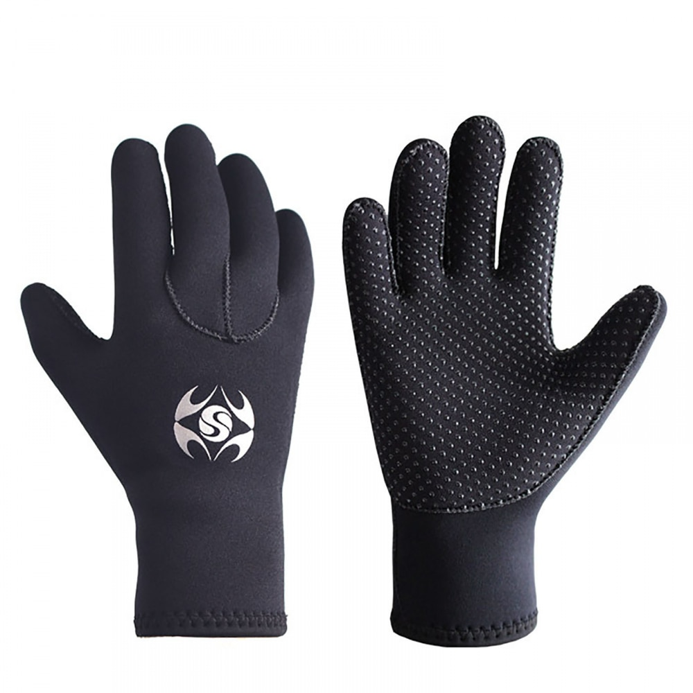 Neoprene Diving Gloves Men's Wetsuit Gloves Female Snorkeling Kayak Gloves Diving Fishing Gloves Underwater Hunting Accessories