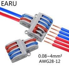 SPL-42/62 2 In 4/6 Heraus Mini Quick Schnelle Draht Stecker Universal Verdrahtung Kabel Stecker Push-in Leiter terminal Block LED Lampe
