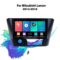 eastereggs 9 inch android 8 1 2 din car multimedia stereo navigation gps autoradio for mitsubishi lancer 2014 2016 head unit