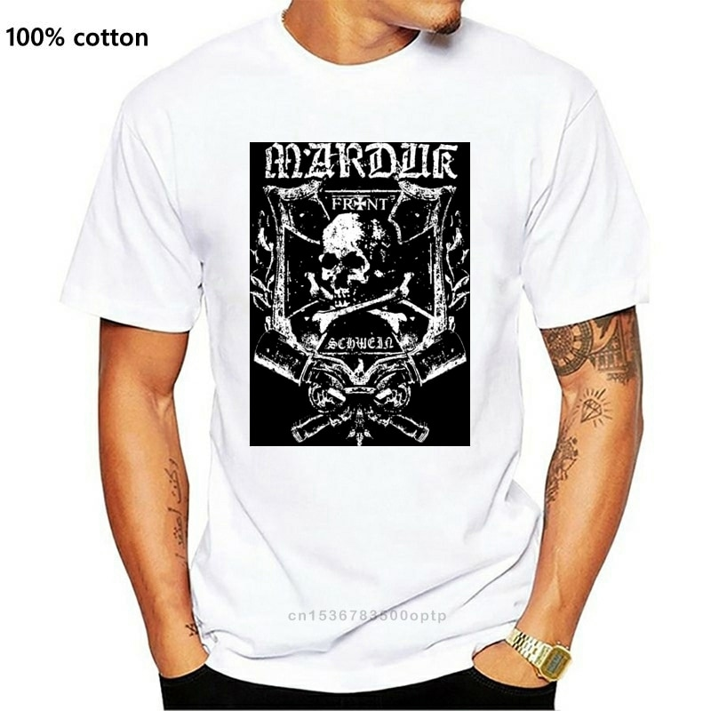 Marduk 'Frontschwein Shield (Schwarz) camiseta