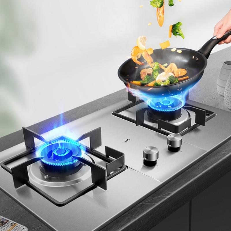 5KW جزءا لا يتجزأ من مواقد الغاز الفولاذ المقاوم للصدأ طباخ غاز عالية الجودة موقد معدات المطبخ كوكتوب