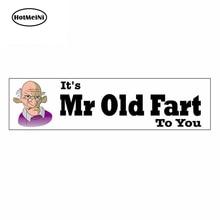 HotMeiNi 13cm x 3.8cm For ItS Mr To You Seniors Pension Graffiti Sticker Anime Personality Creative Stickers Vinyl Car Wrap