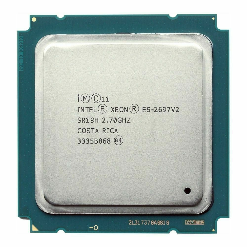 Intel Xeon processor E5 2697 V2, 2.7 GHz, 30m cache, LGA 2011, sr19h, e5-2697, V2, server CPU