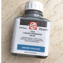 Holland imported TALENS Terrence 052 watercolor blocking liquid, water color white glue, solid acuar