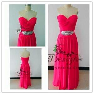 Real Pictures Fushica Chiffon Summer Dresses 2020 Sweetheart Neckline Pleat Beading Backless Natural Evening Vestidos De Fiesta