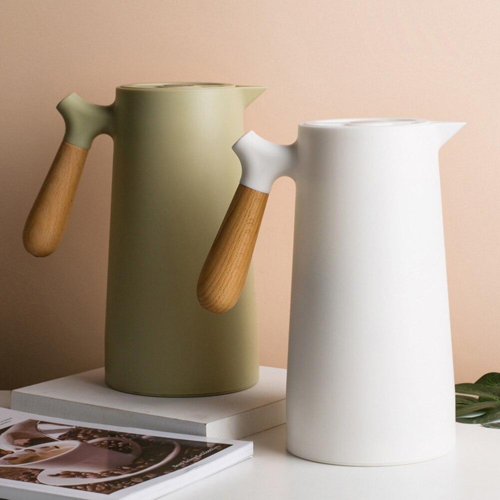 1000 مللي غلاية العزل زجاجة الماء الساخن مع مقبض الشمال نمط سعة كبيرة الترمس للإزالة إبريق الشاي المنزلية إبريق قهوة
