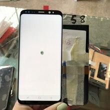 Super Amoled S8 LCD avec cadre pour SAMSUNG Galaxy S8 G950 G950F écran tactile numériseur avec pixel mort