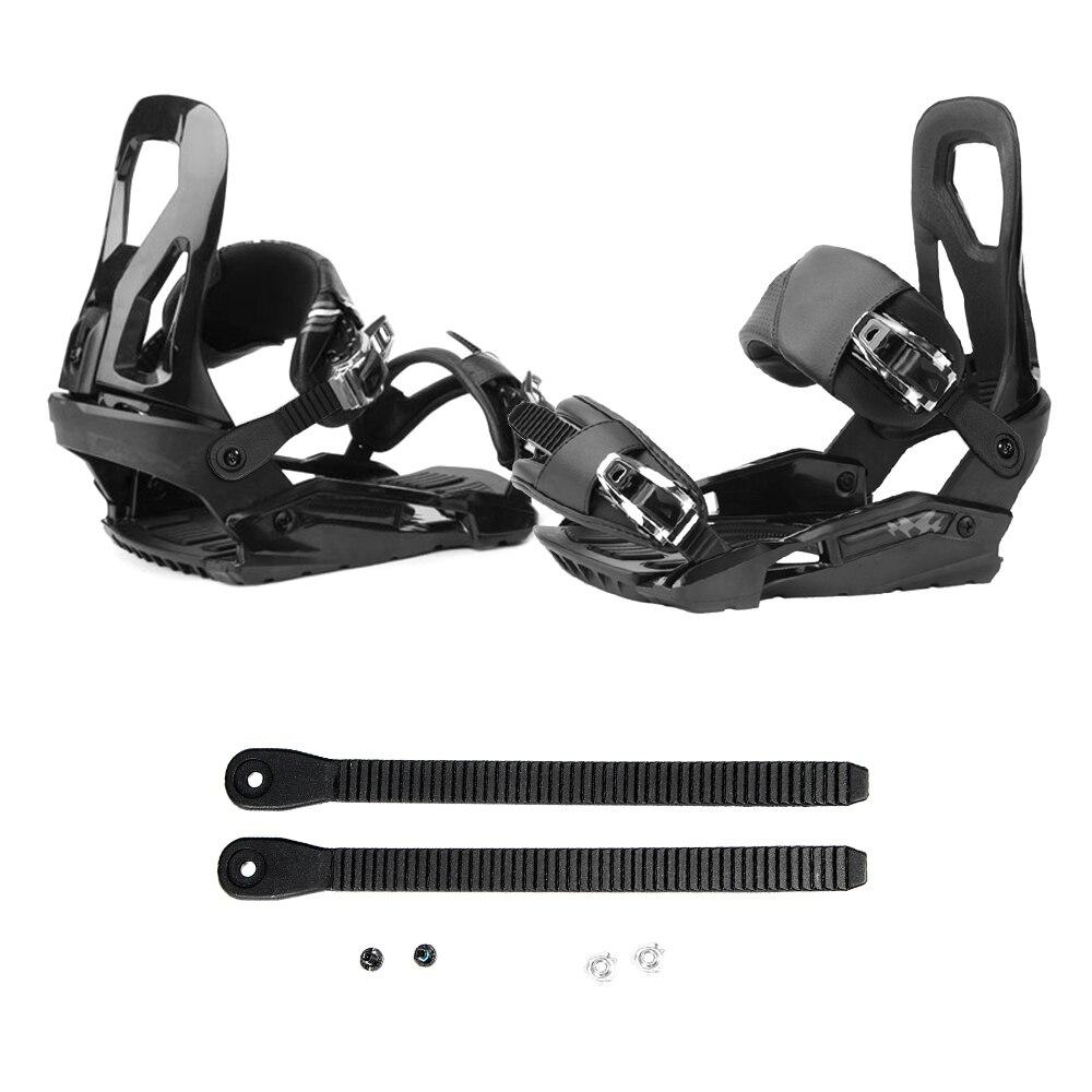 1 пара крепежных ремней для сноуборда, Сменный ремень для езды на лыжах, ремешок для лестницы, ремень для сноуборда, Крепежный ремень для сно...
