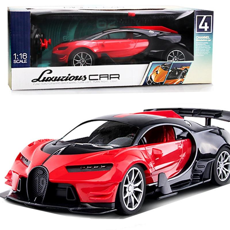 Childrens four-way remote control 116 sports car model electric toy boy car direct sale cross-borde