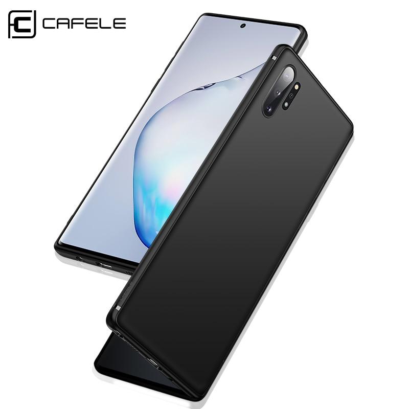 Cafele macio tpu caso de telefone para samsung galaxy note 10 pro fosco ultra-fino caso capa para samsung galaxy note 10