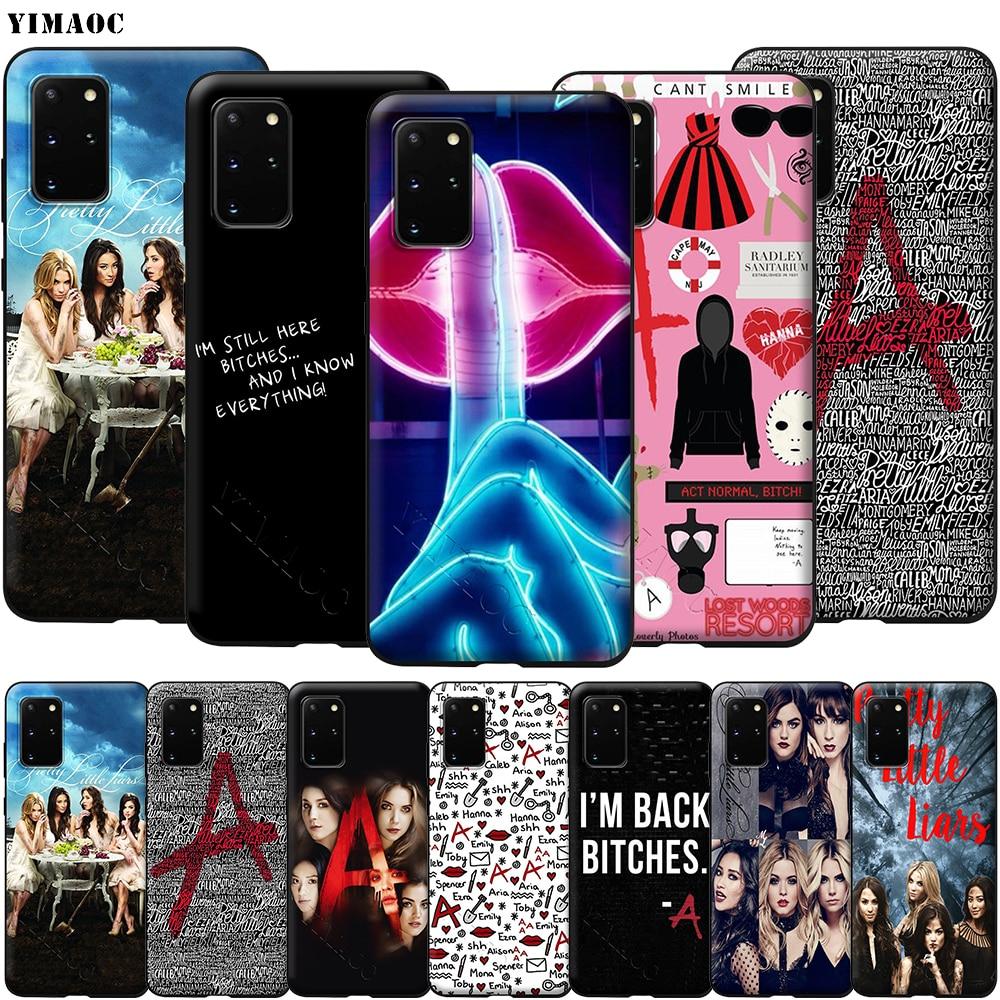 Pretty Little Liars Case for Samsung Galaxy A7 A8 A9 A10 A20 A30 A40 A50 A70 S10 Plus S20 Ultra Note 10 Lite A51 A71 A81 A91