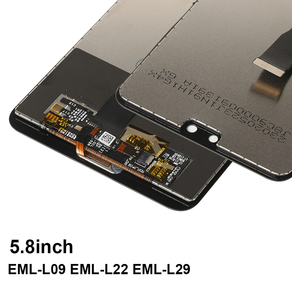 LCD Screen For Huawei P20 EML-L29 L09 L22 Display With Fingerprint 10 Touch Screen Digitizer Replacement For Huawei P 20 P20 LCD enlarge