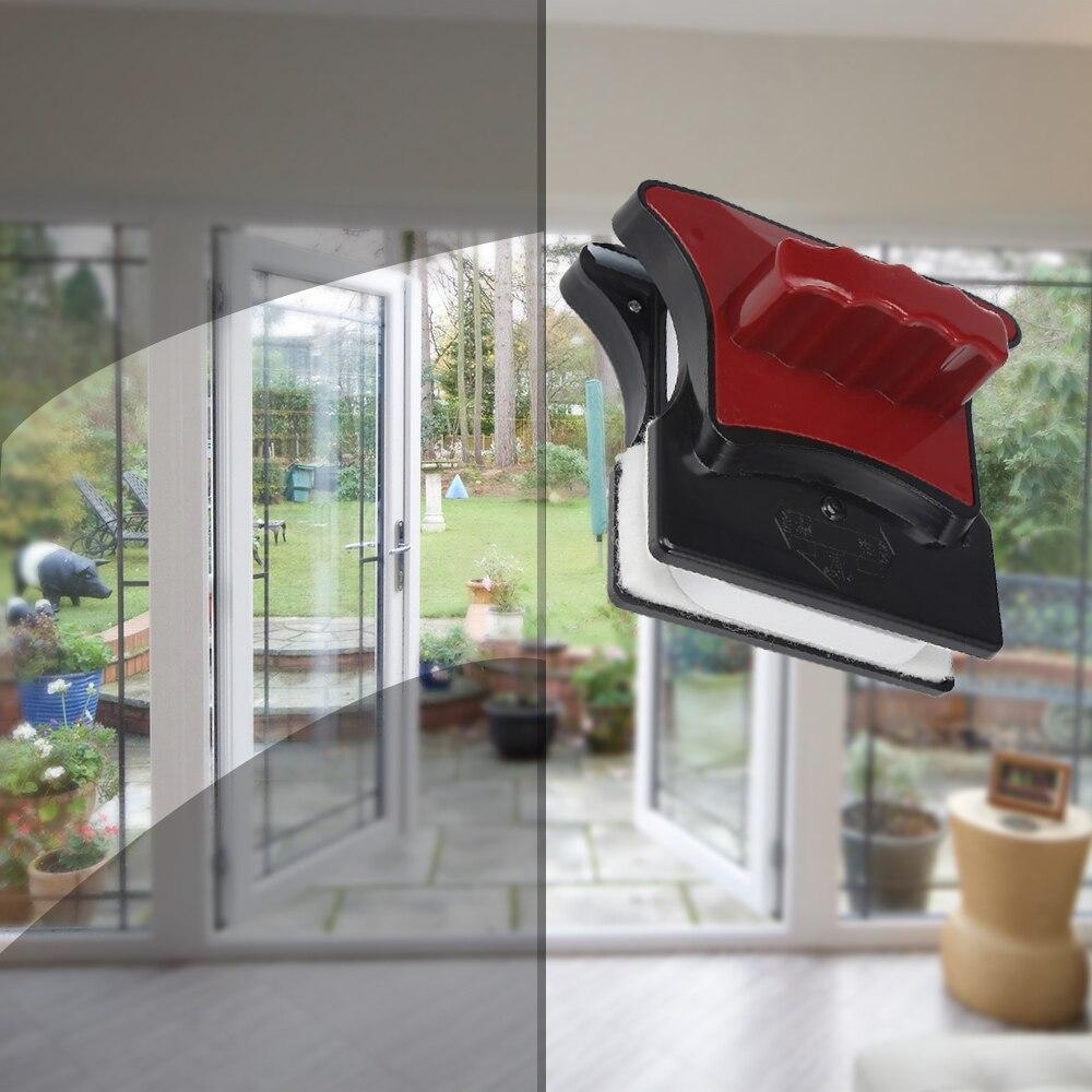Escobilla de limpieza de vidrio limpiador de ventana magnética de doble cara cepillos para lavar ventanas herramientas de limpieza del hogar