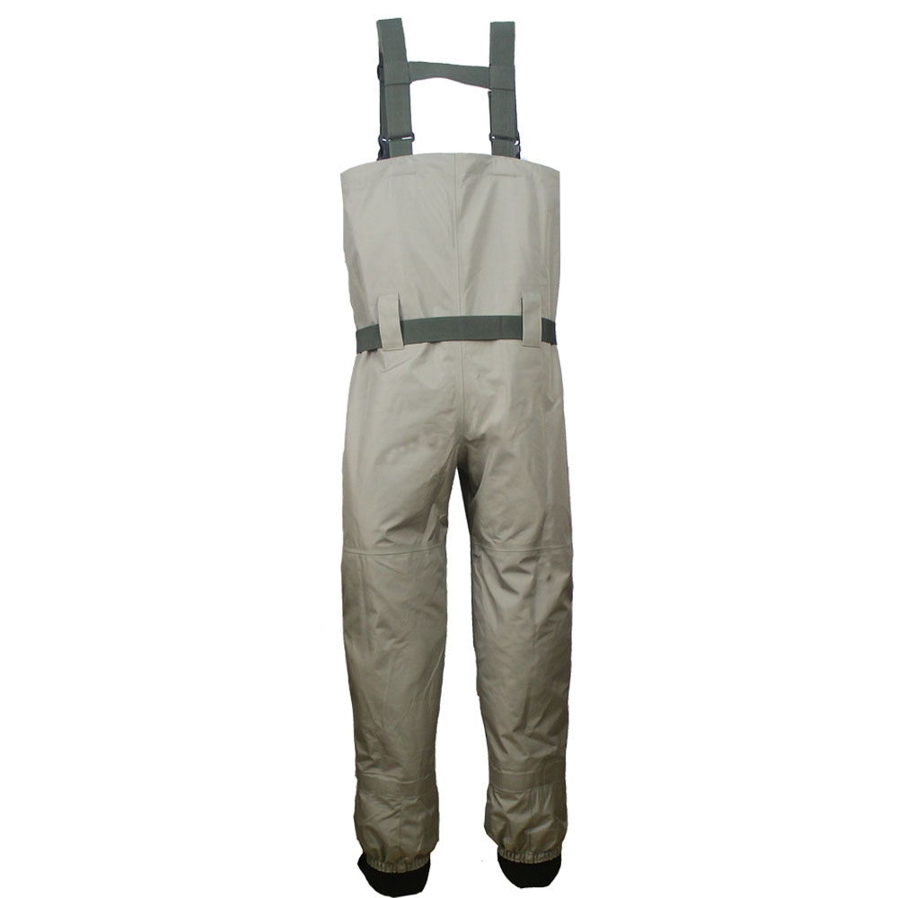 Fishing Waders Durable and Comfortable Breathable Stocking Foot Chest Wader Kits  for Men and Women enlarge