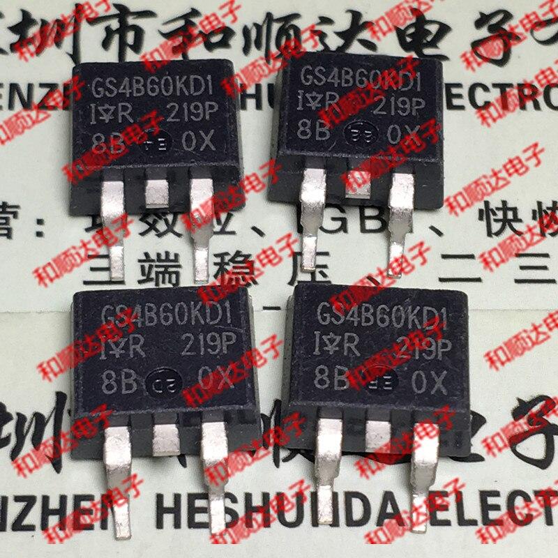 10 unidades/lote GS4B60KD1 IRGS4B60KD1 nuevo punto a-263