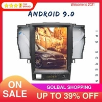 128gb4gb android 9 0 for toyota crown 2012 tesla style car gps navigation head unit stereo multimedia player auto radio dsp