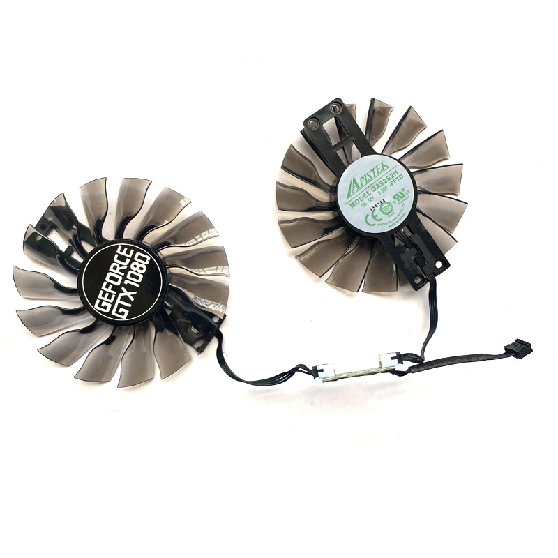NEW 2PCS 95MM GA92S2H 4PIN GPU Cooling Fan Compatible For Maxsun GTX 960 970 Palit GTX1080 SUPER JetStream GTX1060 Replace Fan enlarge