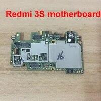 Full Working For RedMi 3S HongMi 3S Motherboard Unlocked 32GB For HongMi 3S RedMi 3S Logic Board Mainboard