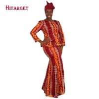 fashion skirt set african designed traditional bazin riche lace skirt sets evening kanga clothing with head scarf wy1852