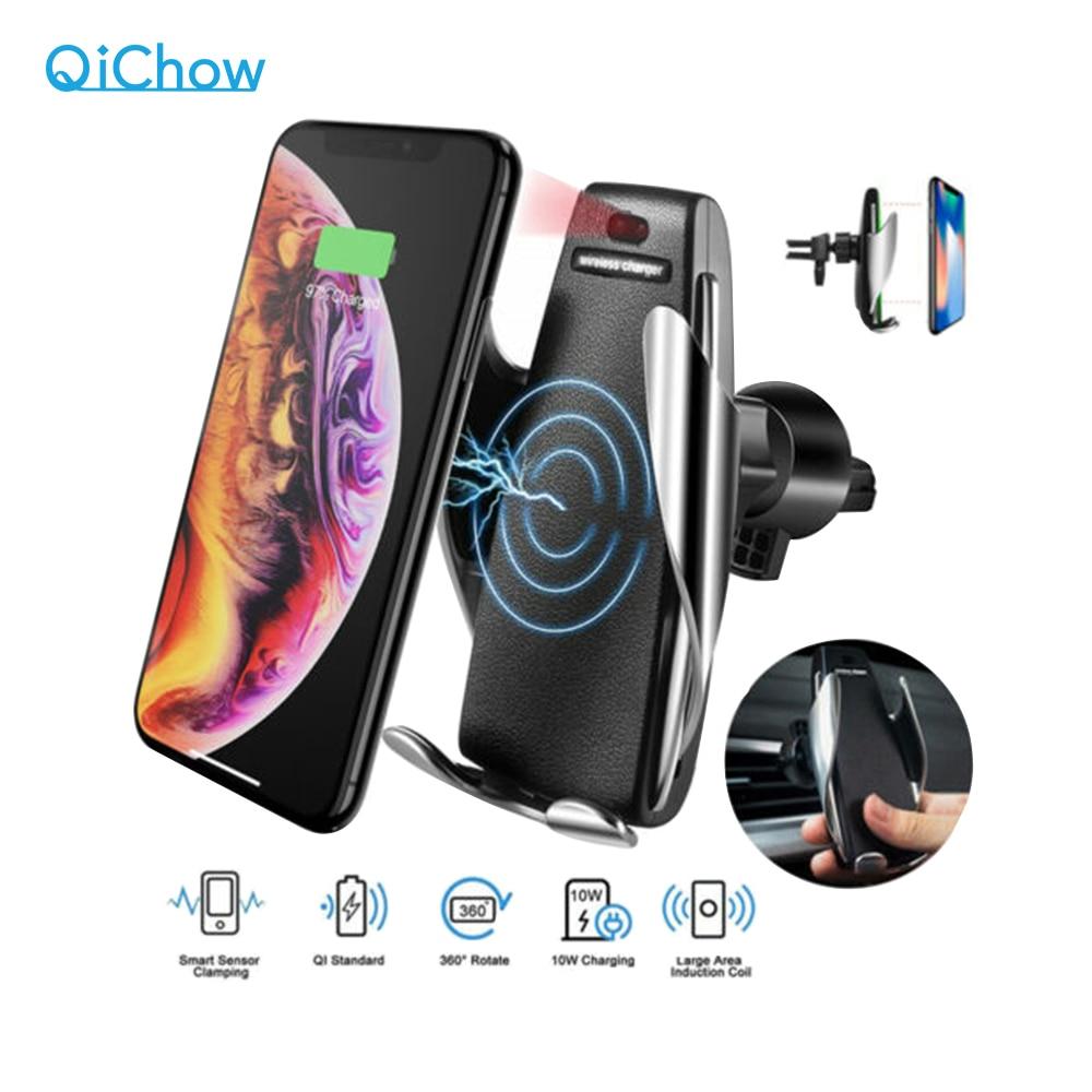 Беспроводное автомобильное зарядное устройство для iPhone XR; Huawei; Samsung 10Вт