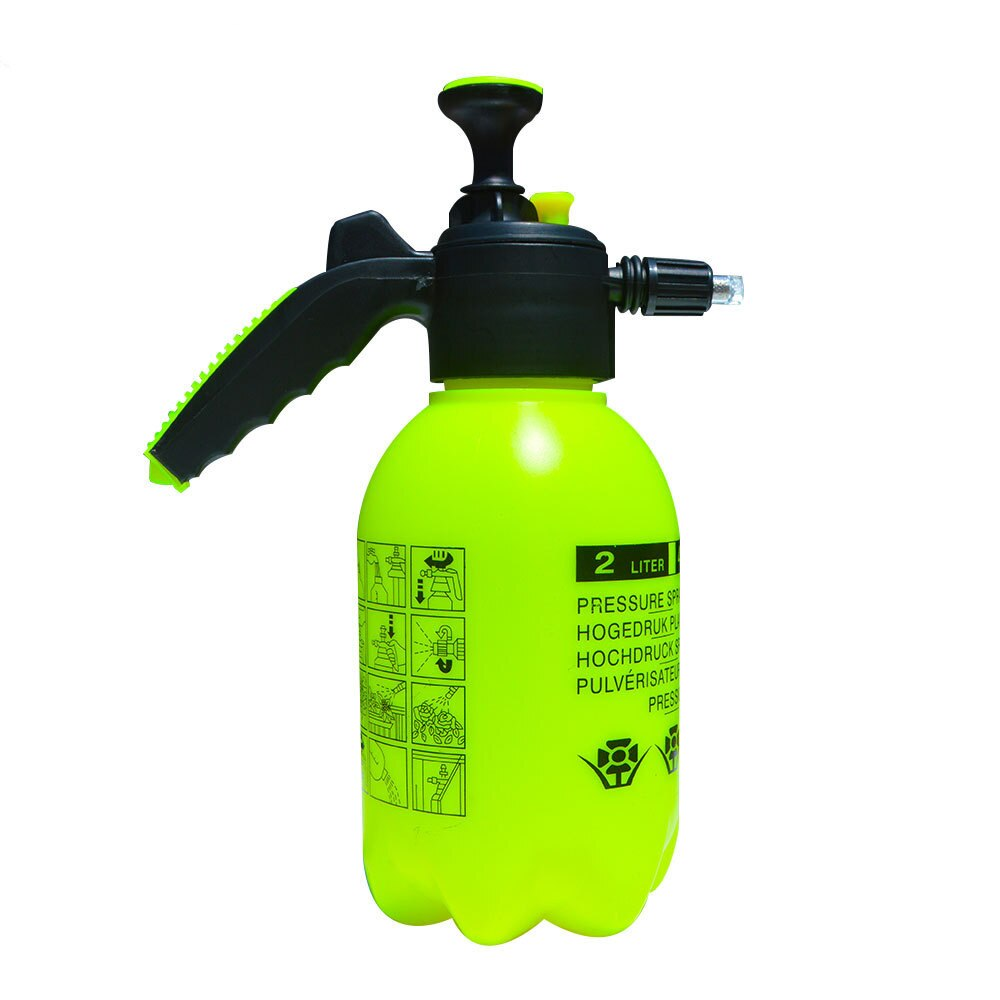 2L Pressurized Car Wash Foam Spray Can Watering Cleaner Auto Cleaning Sprayer Hand Pump Snow Foam Sprayer Cleaning Foam Nozzle недорого