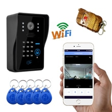 720P WIFI Wireless Video Tür Telefon Unterstützung IOS Android für iPad Smartphone Tablet Control Wireless Intercom