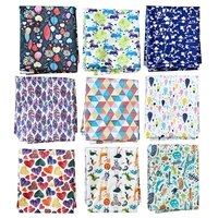 washable waterproof rinted pul for high quality baby cloth diapers pul fabric for wet bags
