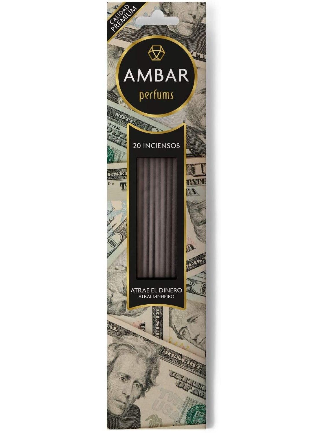 Incienso stick perfume varillas 20 Varillas, Mayor duración 60 Minutos por varialla Varillas perfumadas con aceites naturales