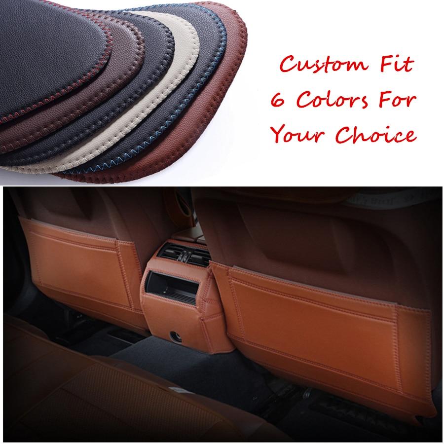 Almohadilla antigolpes de cuero para asiento de coche, para Changan CS35 Plus (2012-2018), cubierta protectora de cuero de fibra, película adhesiva, película lateral