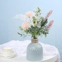 DECORATION POUR LA MAISON BRICOLAGE Fleurs Artificielles Deucalyptus Pissenlit Poignee Fleur Emulation Plante INS Style MARIAGE Essentiel Bouquets