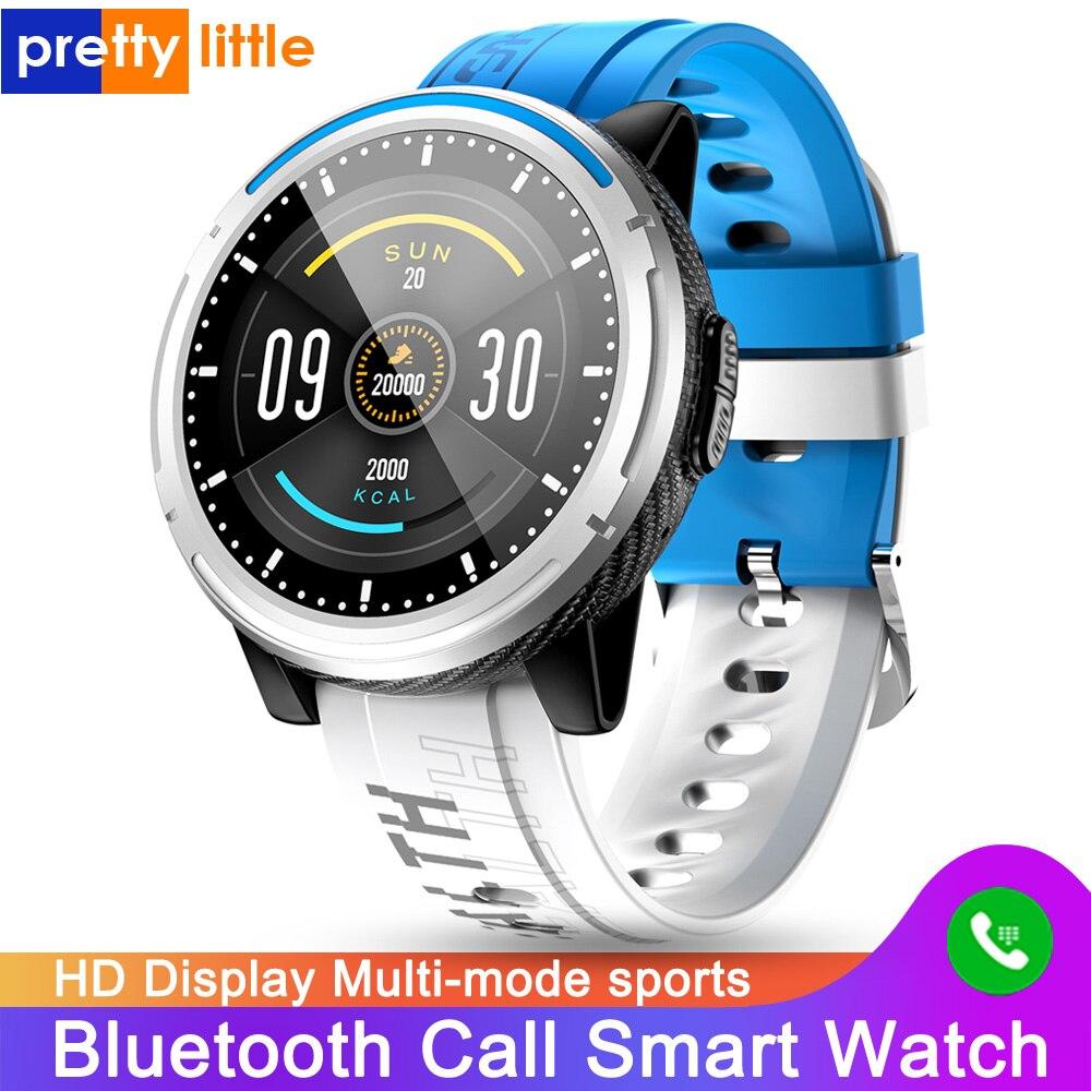 S-26 Смарт-часы для мужчин и женщин Bluetooth Вызов HD дисплей полный сенсорный экран Смарт-часы водонепроницаемый мульти-режим Спорт для Android IOS