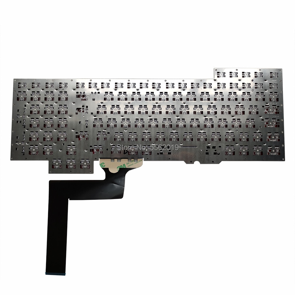 Ovy be - spare keyboard for Asus Rog, g751, g751jm, g751jt, g751jl, g751jy, Belgian black keyboard, 0knb0 and e601be00, very enlarge