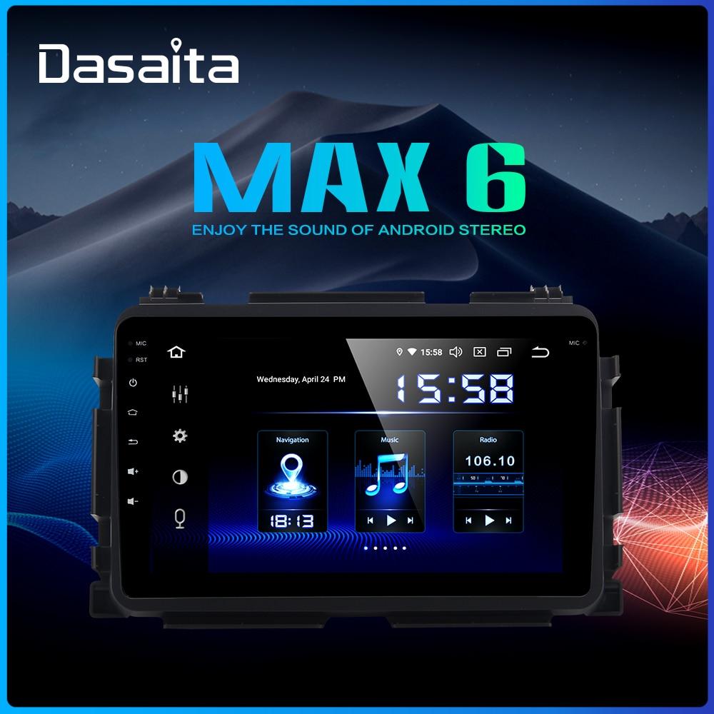 "Dasaita 1 din 1080P Video coche Android 9,0 Radio GPS para Honda Vezel HR-V HRV 2014, 2015, 2016, 2017 8 ""pantalla táctil Multi"