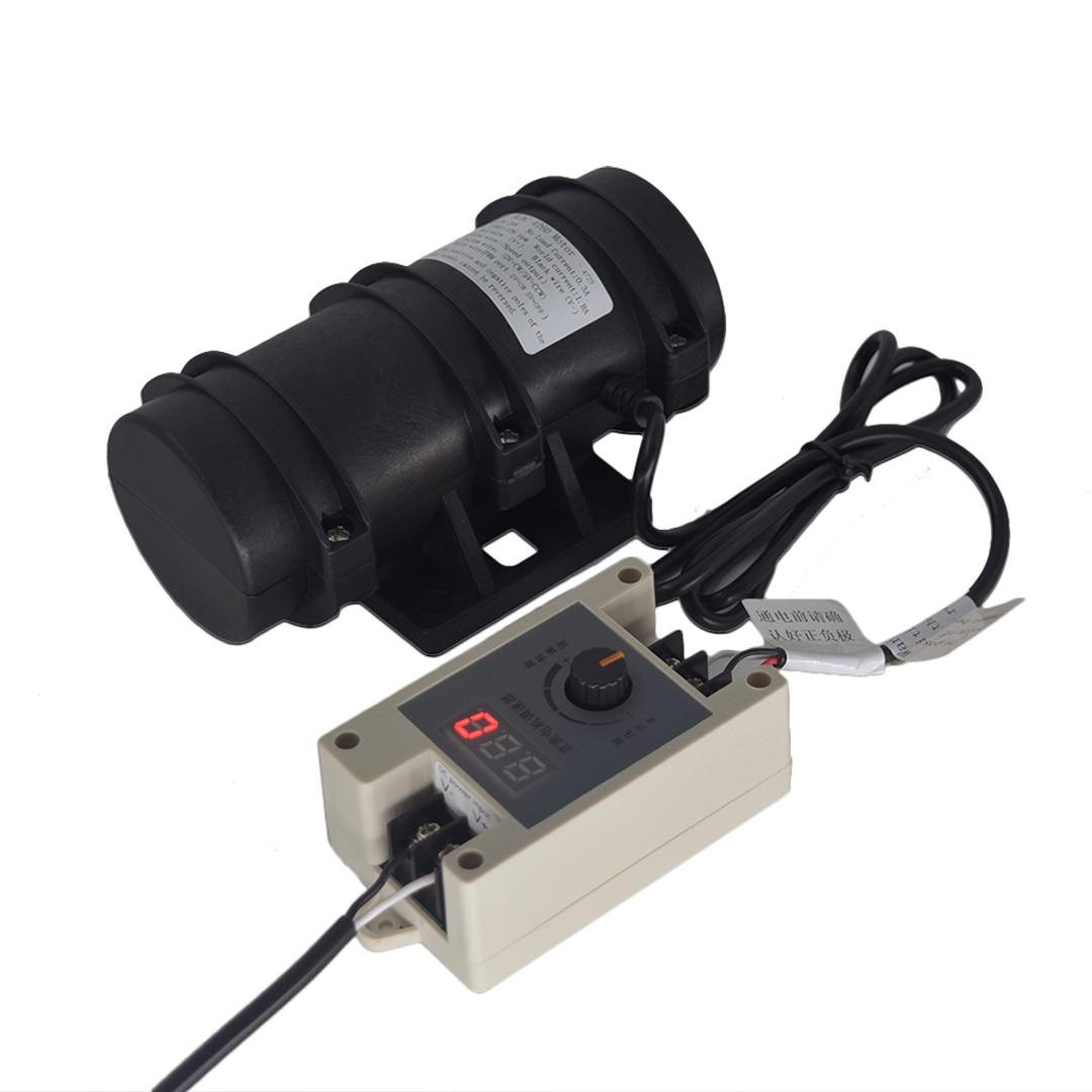 تيار مستمر اهتزاز موتور BLDC مع PWM سرعة تحكم 12 فولت/24 فولت 30 واط 3700 دورة في الدقيقة عالية القوة مكافحة التعب نظام هزاز ملموس قابل للحمل