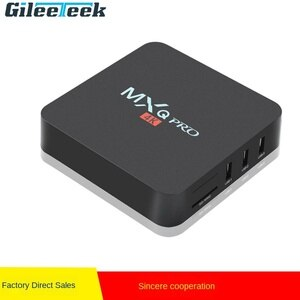 WiFi Media Player Set Top Box Smart Tv Box XG0014K Android 7.1 TV Box Amlogic Rockchip 3229 1/8GB 2/16GB H.265 4K PRO 2.4GHz