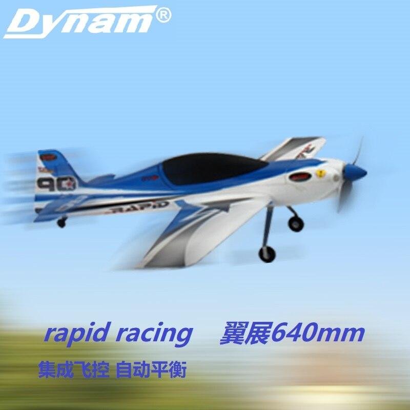 Dynam rc avião rápido 635mm wingspan pnp 8965