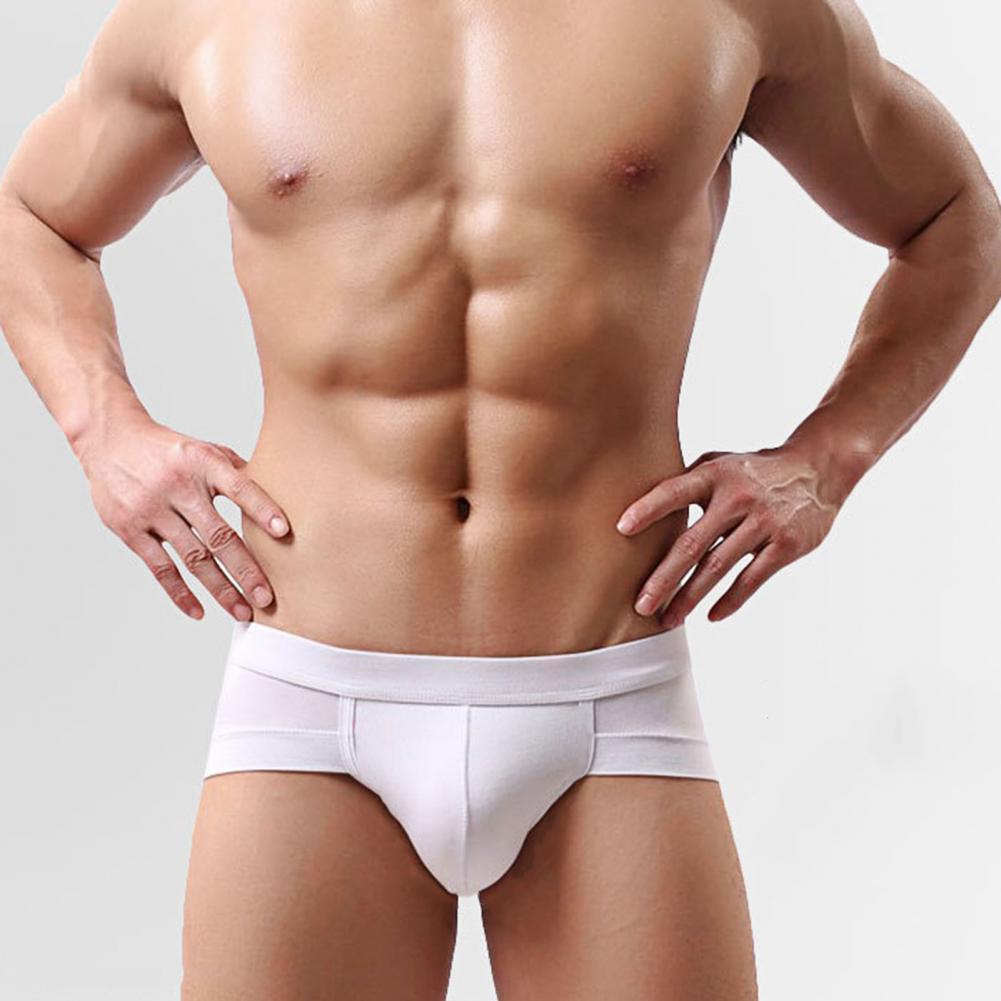 briefs underwear men soft pants underwear Soutong Underpants Light Breathable Low Rise Sexy U-Convex Men Briefs for Daily Wear