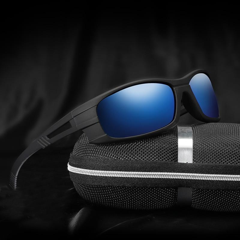 Солнцезащитные очки поляризационные для мужчин и женщин, спортивные ветрозащитные зеркальные солнечные очки UV400