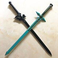 1:1 épée Art en ligne noir repulseur Kirito Kirigaya épée Kirigaya Kazuto cosplay accessoire Yuuki Asuna noir épée cadeau de noël
