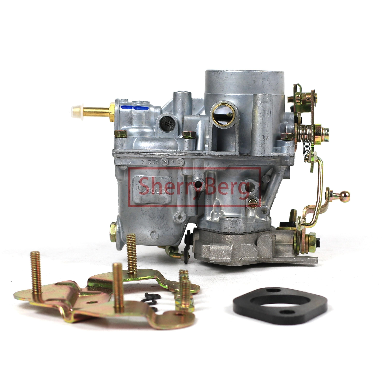 SherryBerg Carburador apto para RENAULT R4L GTL 32-70862 Vergaser CARBURATORE SOLEX R4-R5...