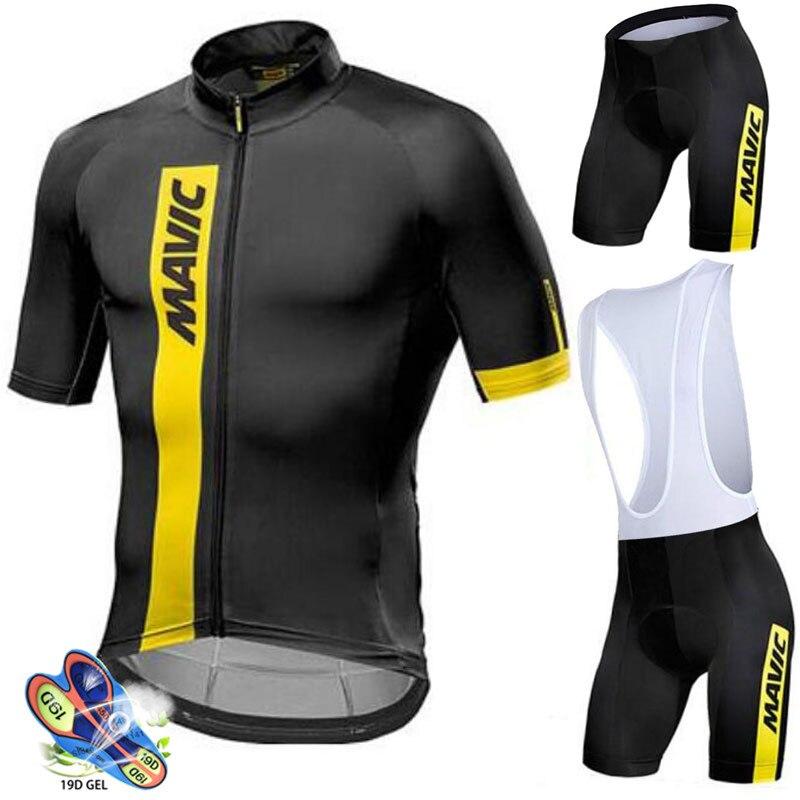 MAVIC-Maillot de manga corta para Ciclismo para hombre, Ropa de Ciclismo de...