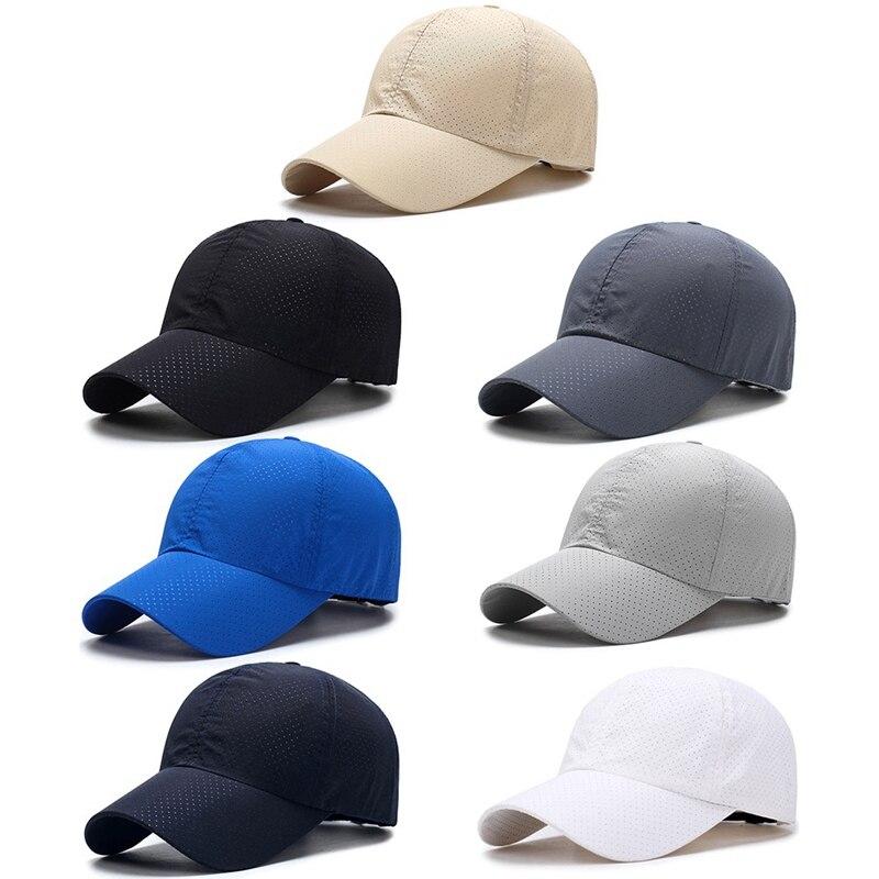 2020 летняя бейсбольная кепка мужская модная дышащая сетчатая шляпа от солнца Bone Feminino Casquette Trucker шапки женские Брендовые спортивные шапки