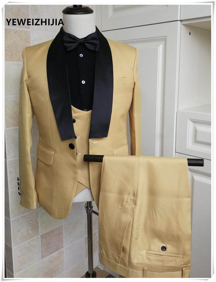 بدلة رجالية 2020 ، فستان زفاف ، بدلة أداء ، توكسيدو ، (جاكيت ، بنطلون ، سترة)