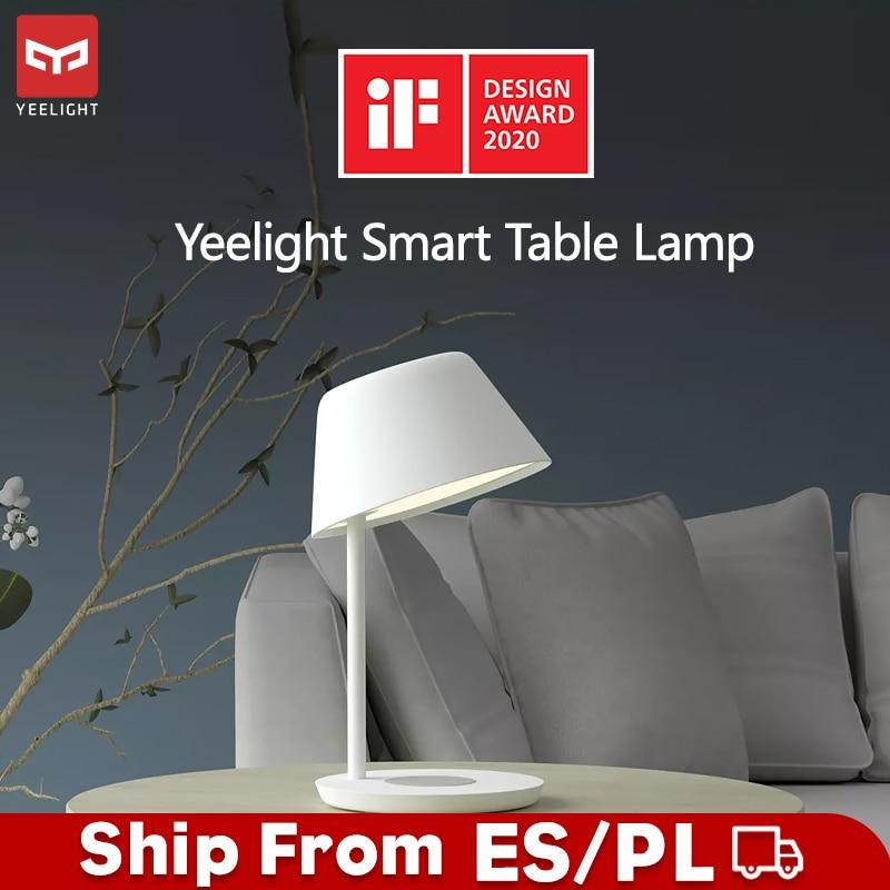 yeelight ylct03yl conduziu a lampada de cabeceira candeeiros mesa inteligente para