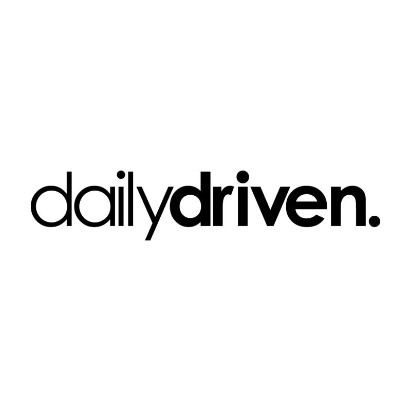 Daily Driven Funny Vinyl Car Stickers Decals Car Window Decals  Window  Bodywork Vinyl Car Interior