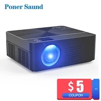 Poner sund W2     Mini projecteur HD natif  1280X720P  Android  WiFi  video  Home cinema 3D  HDMI  film