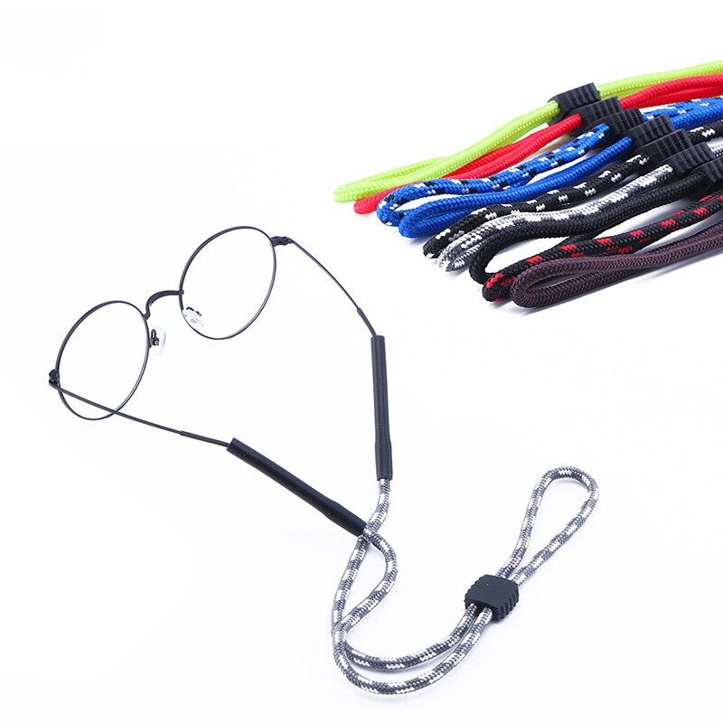 1PC Sport Brille Seil Anti Slip Kette Sonnenbrille Brillen Halter Cord Strap Sonnenbrille Neck Strap Cord Brillen String Halter